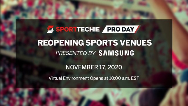 Fortress Featured at SportTechie's REOPENING SPORTS VENUES November 17th