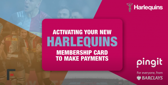 Video: The New Harlequins Season Ticket Membership Card