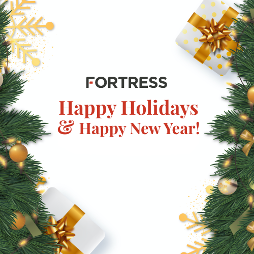 Happy Holidays from the Fortress Team