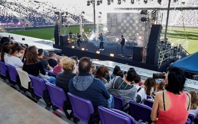 Tel Aviv Hosts its First Concert for the Vaccinated
