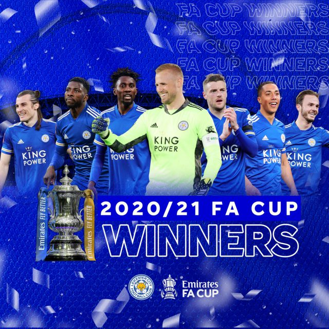 Leicester City FC wins their first-ever FA Cup